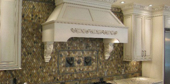HBD Assoc custom chimney with pillars and onlays