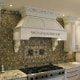HBD Assoc custom chimney with pillars and onlays