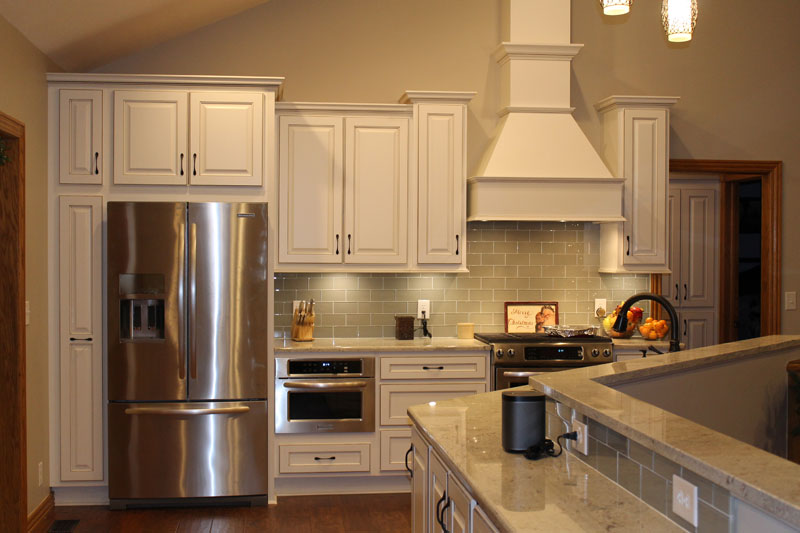 T Series With Chimney Extension Stanisci Design Wood Hoods